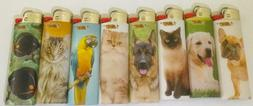 """8 Pieces  Full Size Original BIC"""" Special  Lighters for anim"""