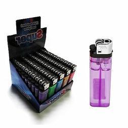 100 PACK Disposable Cigarette Lighters Wholesale Bulk Lighte