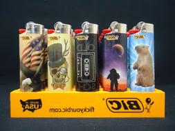 8 Bic Lighters Nuts Hand Pickle Paisley Jar Groundhog Ticket
