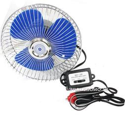 KCHEX>12 Volt Auto Cooling Ocillating Air Fan For Truck Car