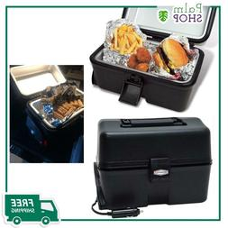 RoadPro 12-Volt Portable Stove, Black, Automotive Travel Foo