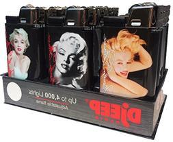 12ct Marilyn Monroe Eclipse Djeep Lighters