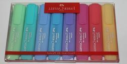 Faber-Castell 154609 Textliner Pastel Highlighter Pen  NEW