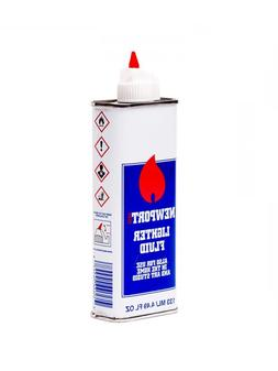 5x Cans Newport Zero Lighter Fluid   Fast Ignition Clean Bur