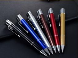 2 in 1 Pen Lighter Butane Gas Torch Refillable Windproof Dis