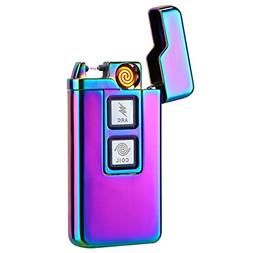 Kivors 2-in-1 Plasma Arc Lighter Coil Lighter USB Rechargeab