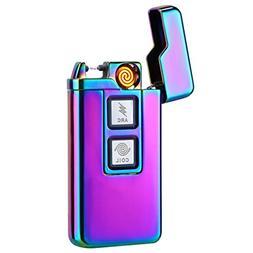 Kivors 2-in-1 Plasma Arc Lighter Coil Lighter USB Rechargeab