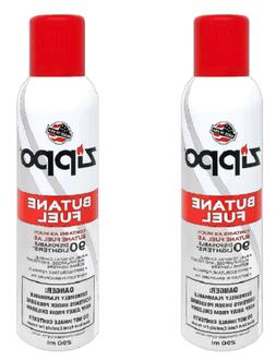 2-Pack Zippo Butane Fuel 5.82 oz With Universal Tip Zippo pr