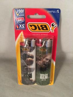 2 Pack Bic Lighters Special Edition, Flick, Gift The Walking