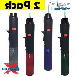 2 pack torch pen gun torch lighter