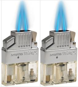 Z-Plus Extreme Butane Twin Flame Torch Lighter Insert - Be