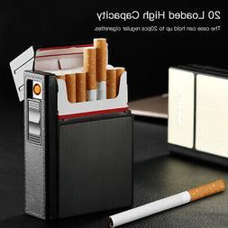 20pcs Plastic Cigarette Cases Dispenser Tobacco Box With Win