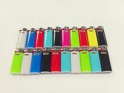 20 MINI BIC LIGHTER ASSORTED COLORS NEW SMALL SIZE BIC WITH
