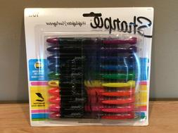Sharpie 24415 Liquid Highlighters Chisel Tip Assorted Colors