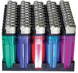 25 Lighters Disposable Assorted Colors
