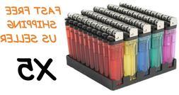250 Classic Full Size Lighter BULK WHOLESALE Disposable Asso