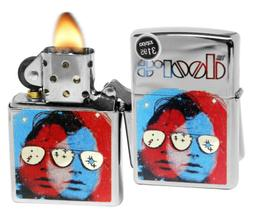 Zippo 29709 Doors 3D Design Jim Morrison High Polish Chrome