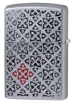 Zippo 29720 Fancy Design Street Chrome Lighter