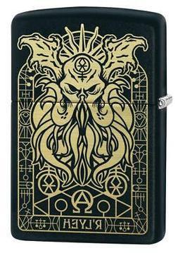 Zippo Windproof Engraved Demonic Monster Lighter, 29965, New