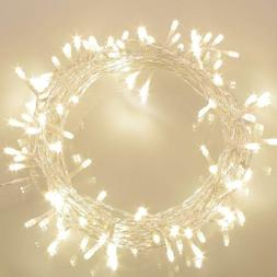 36ft 100 LED Battery Operated String Lights with Timer on 11