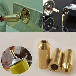 3pcs Brass Gas Refill Adapter For S.T Dupont Memorial Lighte
