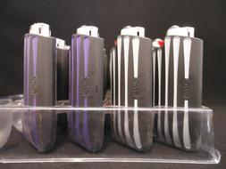 4 Bic Gripper Lighters Mini Lighter Hard Plastic Case