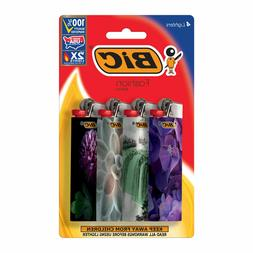 4 Pack Assorted Designs BIC Special Edition Fashion Series L