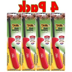 4 PK BiC Multi Purpose Lighter Utility Kitchen Stove Cooking
