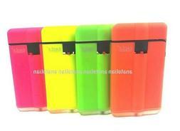 4 Wind Proof EAGLE SLIM TORCH NEON Color Lighter Adjustable