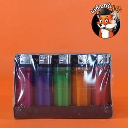 50 Classic Full Size Lighter Bulk Wholesale 1 Box Disposable