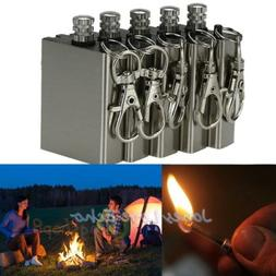 5pcs Survival Emergency Gear Camping Fire Starter Flint Meta