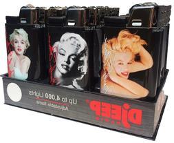 5x DjEEP Paris Marilyn Monroe Lighters - Mix N Match - Relia