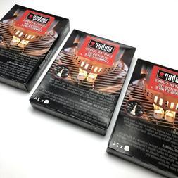 72 pc Weber 7417 Fire Starters Lighter Cubes Smokeless Charc