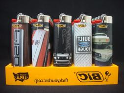 8 Bic Ford Lighters Built Tough Heavy Duty F-150 Mustang GT