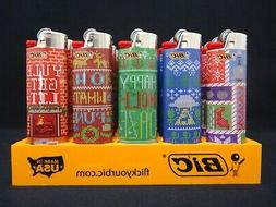 9 Bic Lighters Fashion Series Regular Size Disposable