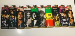 8 Pieces BIC Special Edition Bob Marley Series different des