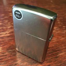 Genuine Zippo 207 street chrome windproof Lighter CASE ONLY