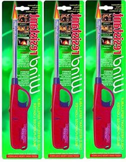 Wind Resistant Multi Purpose Lighter-3 pack