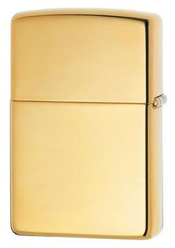 Zippo Armor High Polished Brass Lighter,  Item 169, New In B