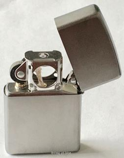 Zippo Windproof Satin Chrome Lighter With Pipe Insert, 205 P