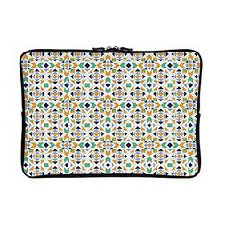 DKISEE Abstract Abstract Mosaic Pattern Neoprene Laptop Slee