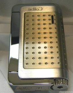 Colibri Abyss jet TORCH  Lighter satin Chrome QTR159003 NWOB