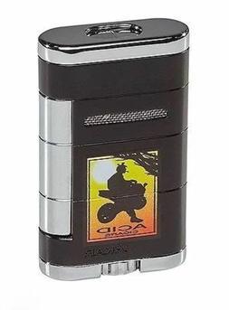 Xikar ACID LOGO Allume Double Torch Lighter Tuxedo Black! 53