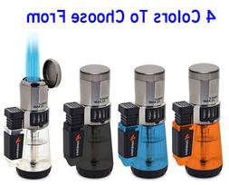 CIGAR LIGHTER Afterburner Triple Torch Butane Cigar Lighter