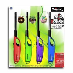 4 PK Scripto Aim 'n Flame II 4pk Utility Lighter