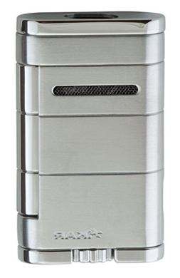 Xikar Allume Double Jet Silver Lighter