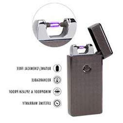 SaberLight Arc Flameless Plasma Beam Lighter USB Charger Rec