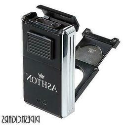 COLIBRI Ashton Astoria Inline Triple Torch Cigar Lighter + C