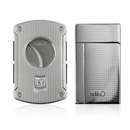 Colibri Aspire Lighter and Cigar Cutter Gift Set