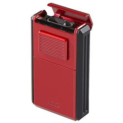 Colibri Astoria Triple Jet Lighter - Red & Black